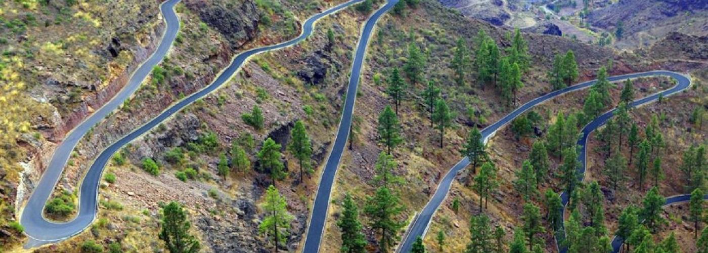 Roads on Gran Canaria